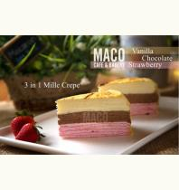 Mille Crepe & Macaron